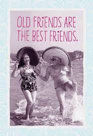friends are the best friends birthday card greeting