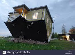 upside down house in tartu estonia 17th september 2017 stock stock photo upside down house in tartu estonia 17th september 2017