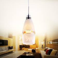 Mini Pendant Light Fixtures For Kitchen Art Glass Mini Pendant Lights Cylinder Shade For Kitchen