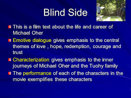 The Blind Side Of Love The Journey Ppt Download