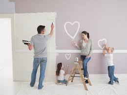 how to paint designs on walls and ceilings