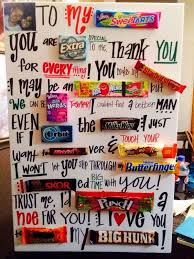 creative valentines day ideas for him make a candy bar letter for your boyfriend it s not only but