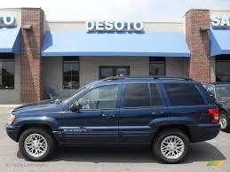 2002 jeep grand 2002 patriot blue pearlcoat jeep grand limited 4x4