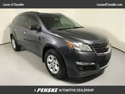 lexus ls phoenix 2013 used chevrolet traverse fwd 4dr ls at tempe honda serving