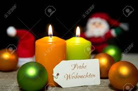 colorful card german text frohe weihnachten which