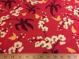 Home Decor Weight Fabric by Joel Dewberry Orchid Raspberry Hdjd01 100 Cotton Sateen Home