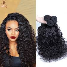wet and wavy sew in hair care 7a peruvian virgin hair water wave 3pc unprocessed peruvian wet