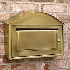 nickel mailbox wall mount how to remove a brass mailbox post u2014 the homy design