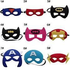 masks for kids set mask superman batman thor captain