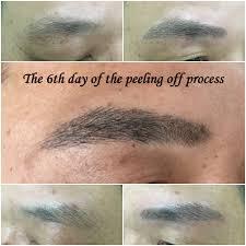 permanent makeup eyebrows flaking off u2013 world novelties makeup 2017