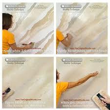 Marble Faux Painting Techniques - best 25 sponge painting walls ideas on pinterest sponge paint