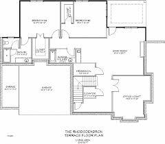 foundation floor plan house plan best of slab on grade house plans canada slab on