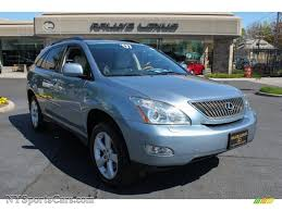 gray lexus rx 350 2007 lexus rx 350 awd in breakwater blue metallic 032302