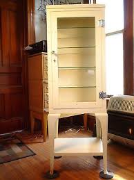 Vintage Pharmacy Cabinet Antique Medical Cabinets Collection On Ebay