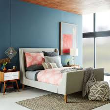 Modern Sleigh Bed How To Dress Upholstered Sleigh Bed Home Decorations Insight