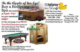 hotspring spas pool tables 2 bismarck nd fargo hotspring spas and pool tables 2