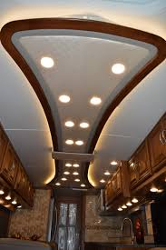 Rv Renovation Ideas by Custom Ceiling Rv Renovations By Classic Coach Works