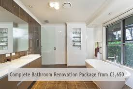 complete bathroom renovation special offers