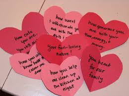 a fun way to show him you love him create a love letter scavenger