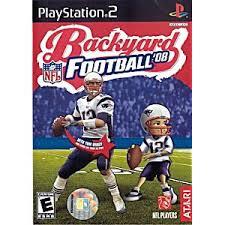 Backyard Wrestling Video Game by Backyard Football 08 Sony Playstation 2 Game