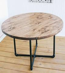 reclaimed wood round coffee table reclaimed wood round coffee table with pipe base rustic coffee