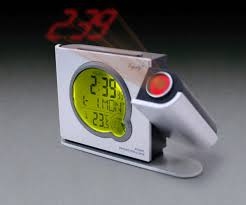 Clock That Shines Time On Ceiling by Alarm Clocks Time Projection Weather Indicator