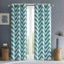 chevron bedroom curtains the chevron window panel will add a dramatic modern pop to your room