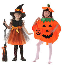 2017 girls halloween coaplay dress with hat children girls cospaly