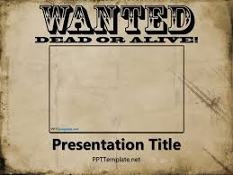 powerpoint wanted poster template tomium info