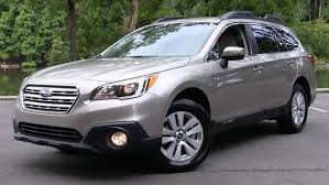 red subaru outback 2016 2015 2016 subaru outback 2 5i premium start up road test and in