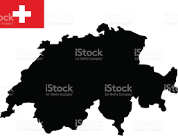 Swiss Map Swiss Map And Flag Stock Vector Art 689987088 Istock