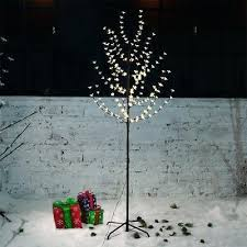 Decorative Twig Tree 6 Of 7 Led Cherry Blossom Birch Twig Tree Light