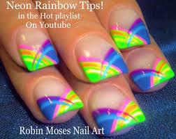 40 latest neon nail art designs