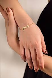 personalized name bracelet custom name bracelet gold name bracelet