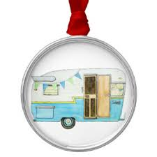 vintage trailer ornaments keepsake ornaments zazzle