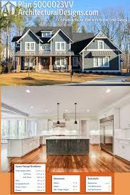 plan 500023vv exclusive craftsman house plan with bonus over
