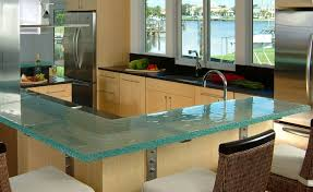 kitchen top ideas think glass kitchen counter for the home