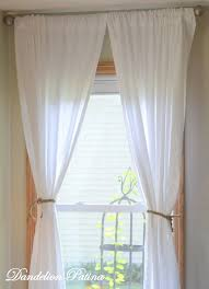 Make Curtains From Sheets The 25 Best Sheet Curtains Ideas On Pinterest Flat Sheet