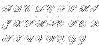 4 best images of cursive old english calligraphy old english