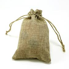 maple craft burlap drawstring bags pack of 6 4 x 6