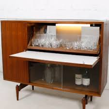 Lighted Bar Cabinet Modern Mobler