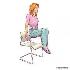 exercice au bureau 6 exercices pour le ventre à faire au bureau sur une chaise 237infos