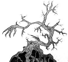 tim burton style tree the tree of scavengers by shadowstyle143 on