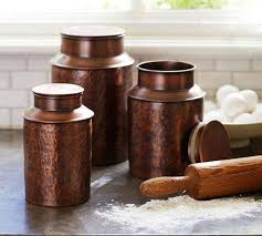 copper kitchen canisters gorgeous kitchen canisters gallery