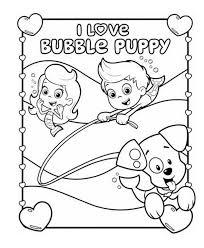 bubble guppies coloring page bubble guppy coloring page bubble