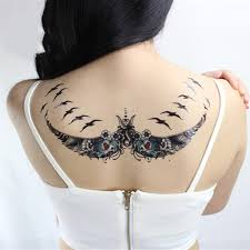 aliexpress com buy waterproof temporary tattoo sticker fly bird