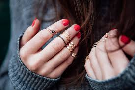 hand finger rings images Midi rings why these cult styles are here to stay in detail jpg