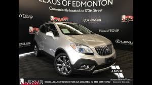 buick encore silver used silver 2016 buick encore leather walkaround review lethbridge