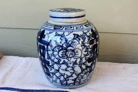 blue u0026 white ginger jar omero home