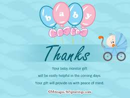 thank you notes for baby shower baby shower thank you wording 14798